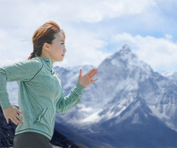 低酸素高地トレーニング風景
